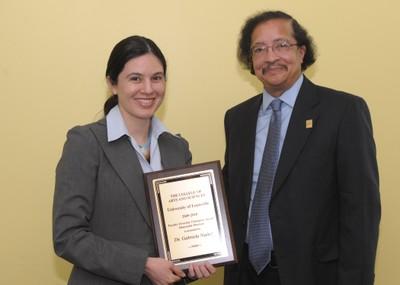 Gabriela Nunez A&S Faculty Awards 2010