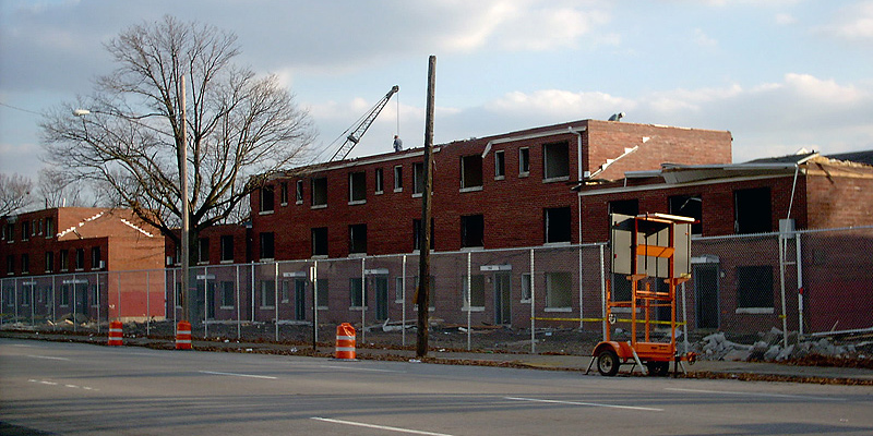 Clarksdale housing being demolished