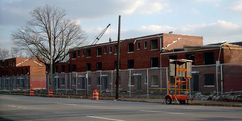 Clarksdale housing being demolished
