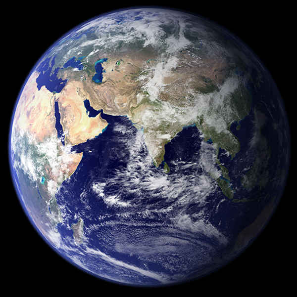 picture of earth from space