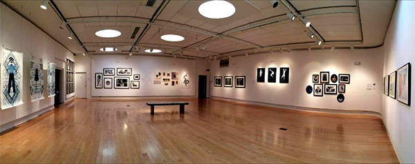 the gallery at the Hite Art Institute