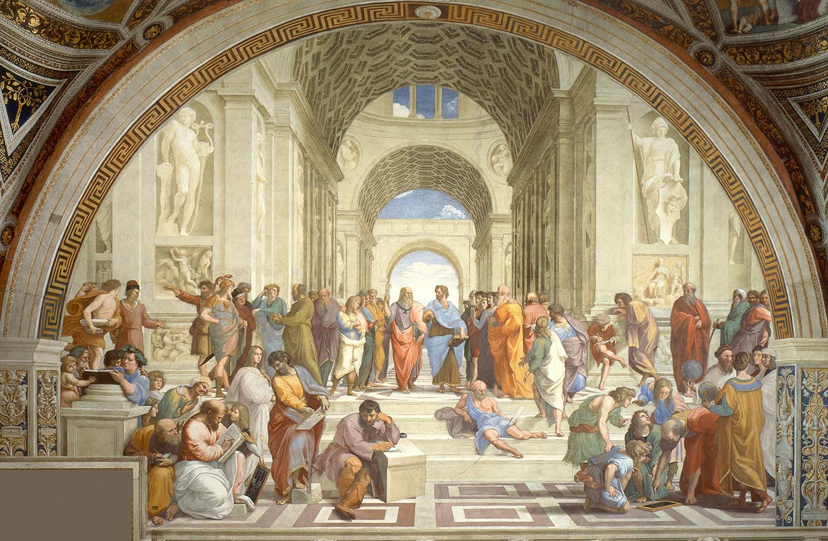 School of Athens painting