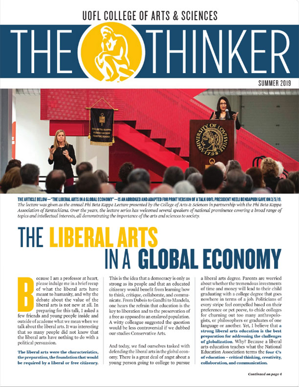 The Thinker Summer 2019 cover