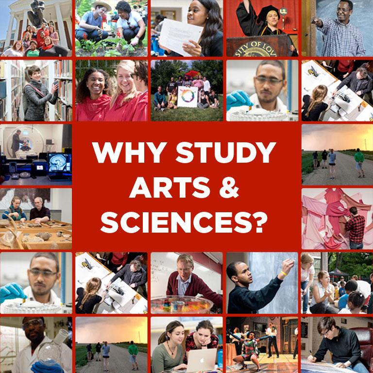 Why Arts & Sciences?