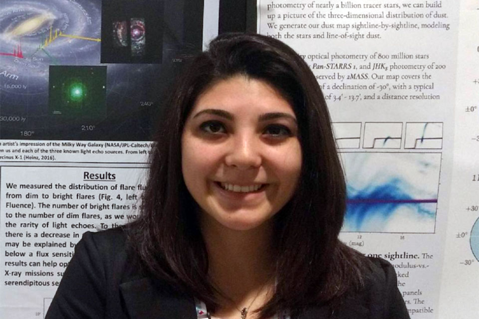 Physics & Astronomy student wins award for summer research