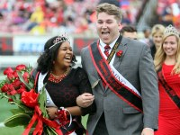 UofL Homecoming King and Queen both A&S majors
