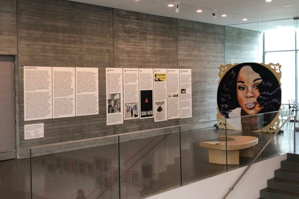 A&S students contribute to Speed's Breonna Taylor exhibit
