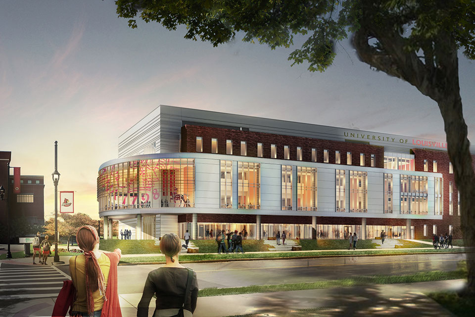 Belknap Academic Classroom Building on pace for fall opening