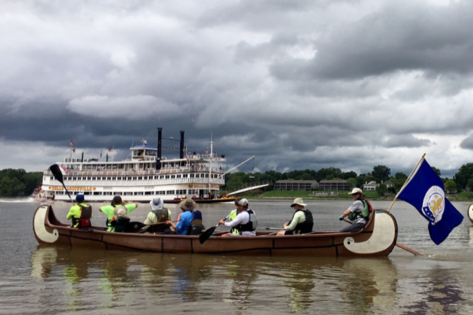A&S faculty join citywide 'Afloat: An Ohio River Way of Life' celebration