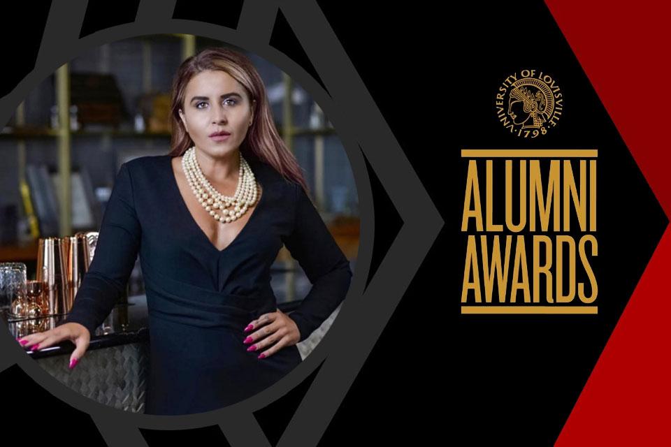 Antigona Mehani (Political Science, '11) recognized as a 2020 UofL Alumni Fellow