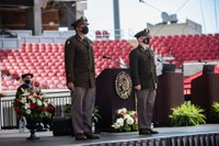 Army ROTC cadets commissioned as officers