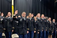 UofL's Army ROTC commissions 17 new officers