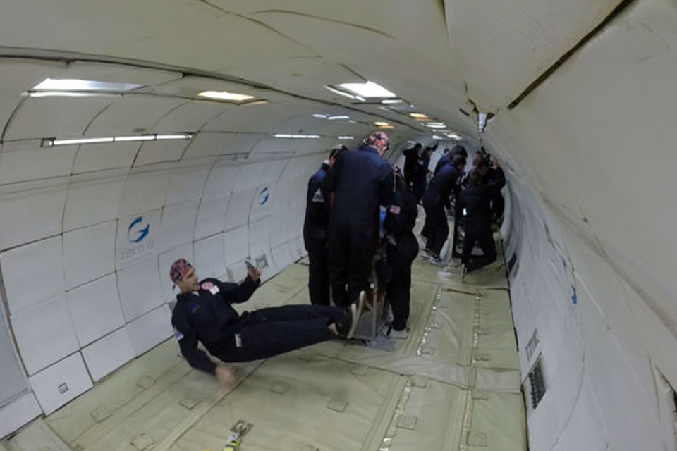 UofL researchers take flight, study way to rehydrate blood in space