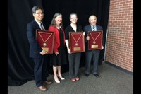 Department of Chemistry Wins Big at Presidential Celebration of Excellence