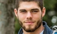 A&S Scholar Conrad Smart delivers commencement address