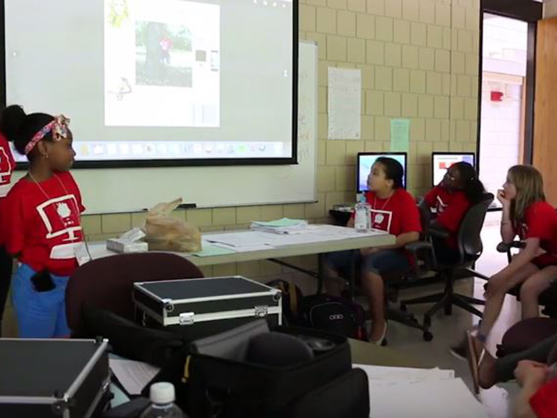 Video: Digital Media Academy two-week summer camp for young girls