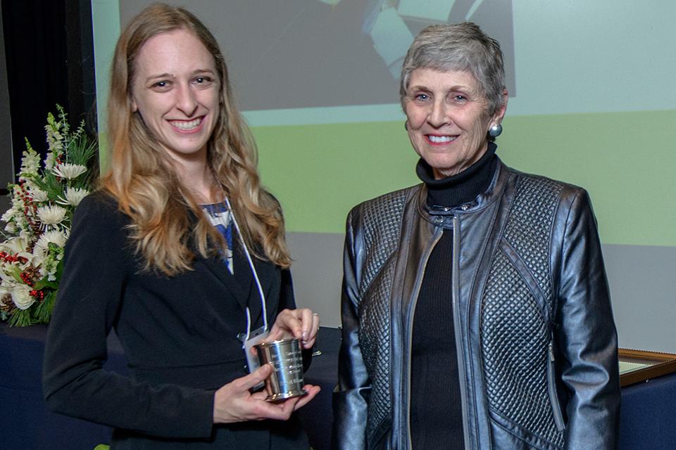 Hannah O'Daniel (M.A. Public History) received the first Kentucky Public History Intern Award