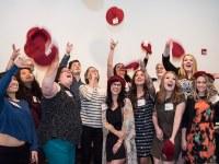 Students showcase work for Portfolio Day
