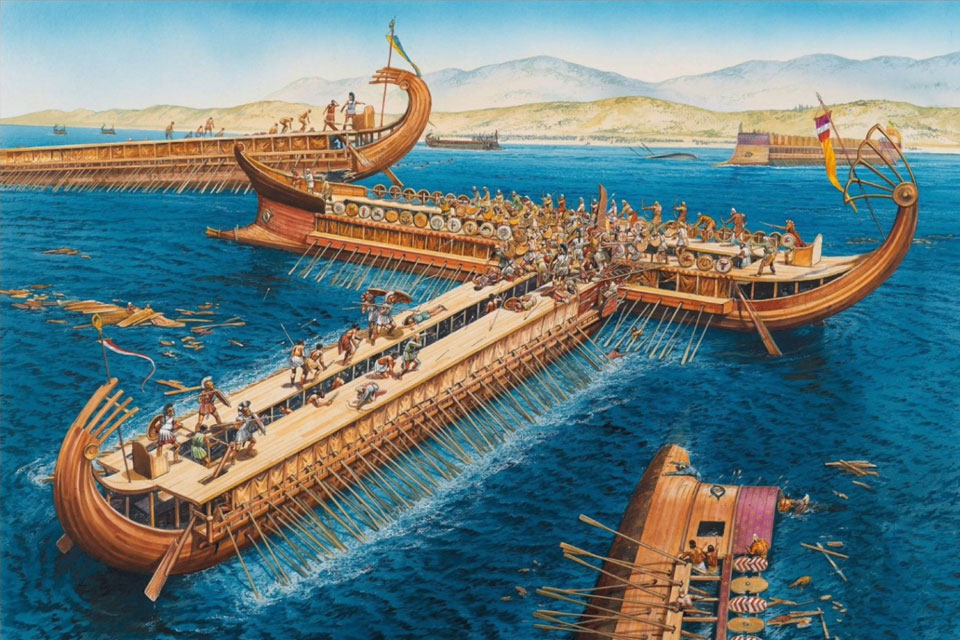 Liberal Studies Prof. John Hale covers the 2500th anniversary of the Battle of Salamis
