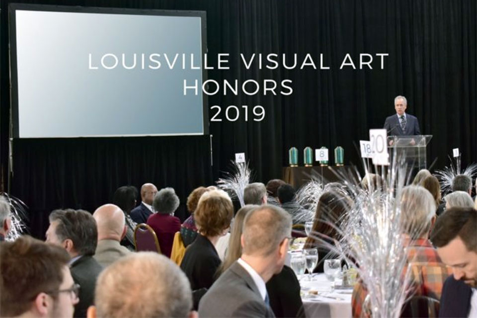 Louisville Visual Art honors UofL artists, educators
