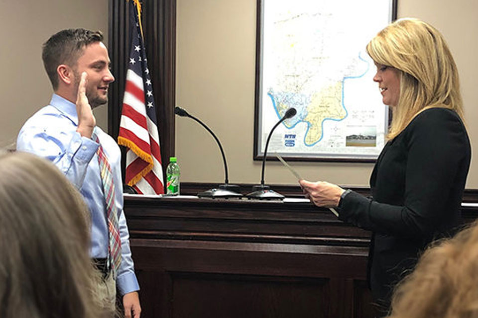 After graduation, geography student sets his sights on a bigger political stage