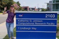 A&S Physics student makes her NASA dreams come true