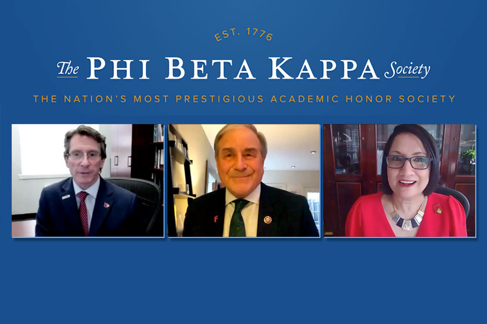 Watch now: 2021 PBK Lecture with John Yarmuth