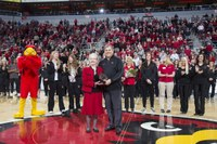 Prof. Elaine Wise receives 2015 National Girls and Women in Sports Award