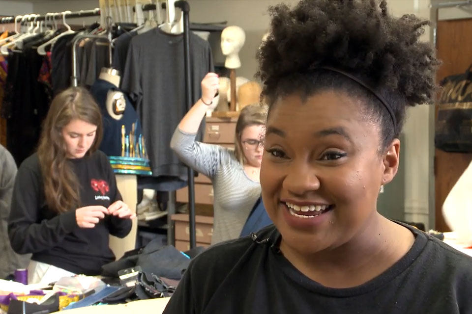 Project Runway contestant is back at UofL Theatre Arts