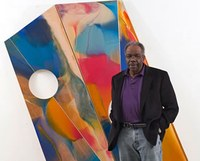 'At long last,' Fine Arts alum Sam Gilliam's artwork finds its place in a NYC gallery