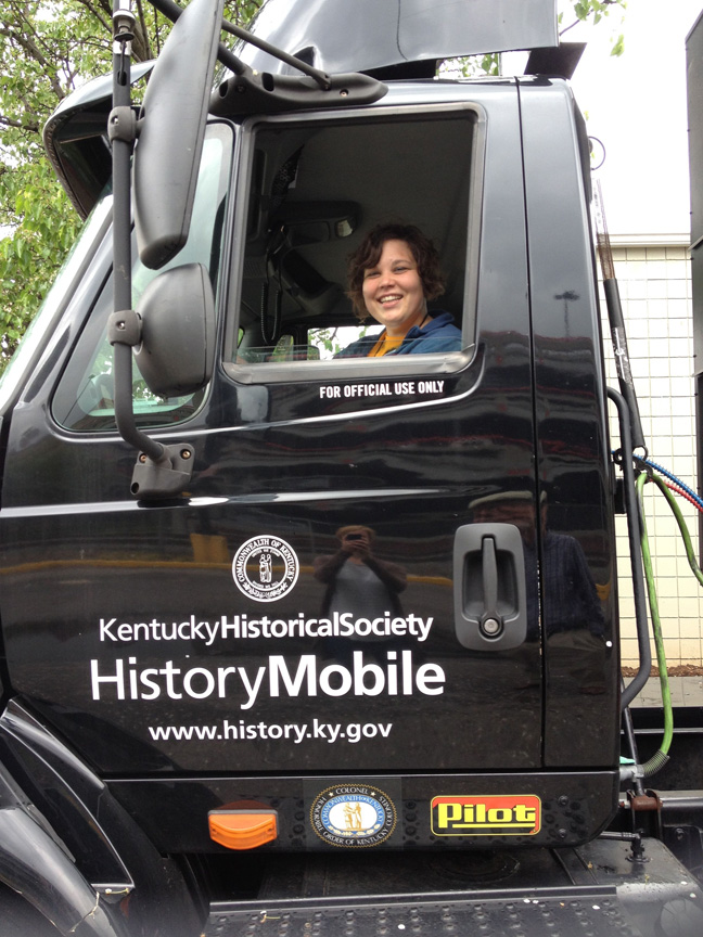 UofL grad trucks history lessons across state, to fair