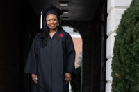 UofL graduate pushes through darkness to get to light