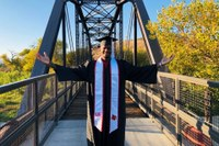 'UofL is in my DNA:' Graduate earns his degree while serving as a Los Angeles police officer