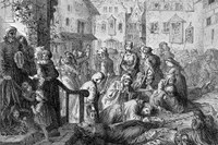 How did the ancient bubonic plague shape our immune systems today?