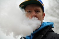 Vaping e-cigarettes and hookah does the public feel they're less risky?