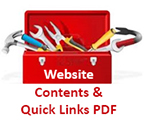 toolbox website contents and quick link pdf