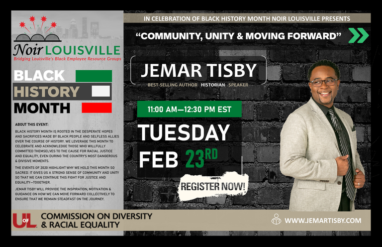 Jemar Tisby event