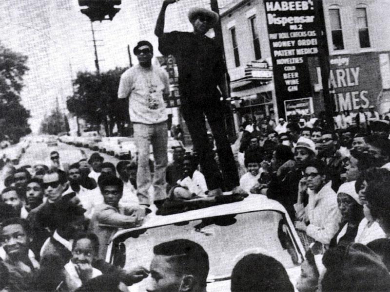 1968 civil rights protest