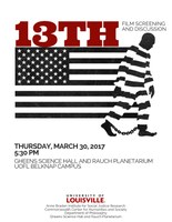 13th film screening and discussion - March 30