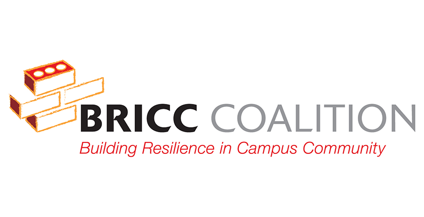 BRICC logo: Building Resiliency in Campus Community