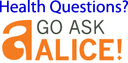 Go ask alice button