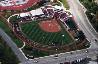 Image result for louisville cardinals softball field