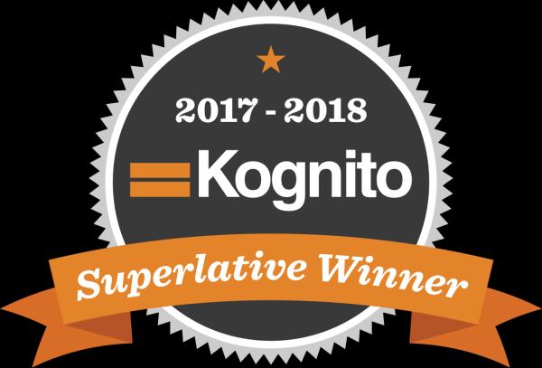 2017 - 2018 Kognito Superlative Winner