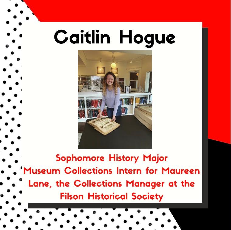 Featured Intern Caitlin Hogue