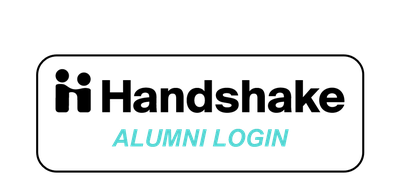 Handshake alumni login button