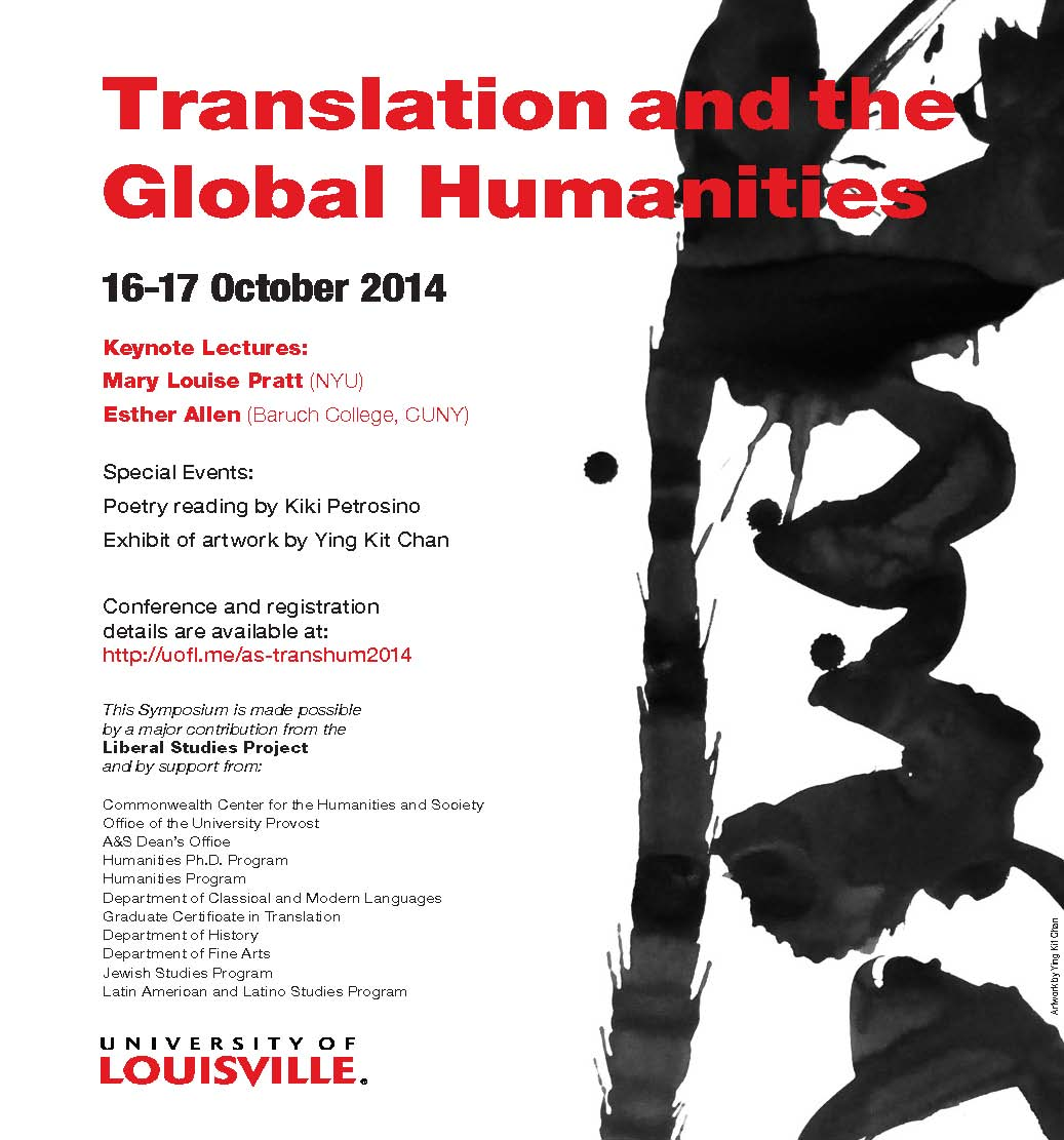 Translation and the Global Humanities