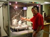 Dr. Mark S. Mashuta and the Small Molecule X-RAY Facility
