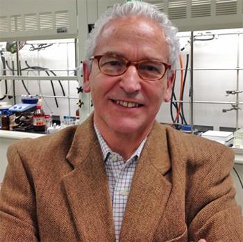 GB Hammond in his lab.