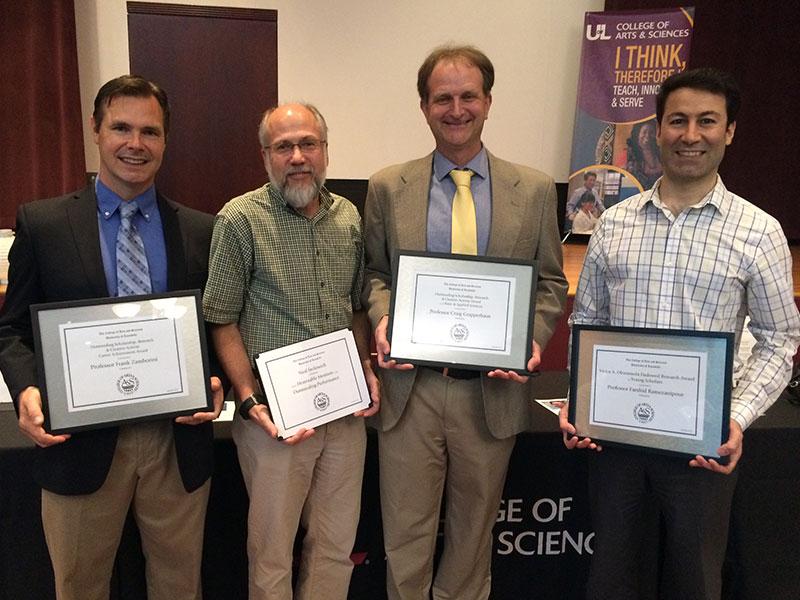 Chemistry Wins A&S Awards