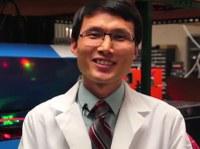 Chemistry Professor Jinjun Liu explains how he uses lasers to study energy efficiency